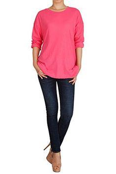 Hipsteration Womens Loose Shirts Round Neck Blouse Top Grey, M Hipsteration http://www.amazon.com/dp/B019Q73HPM/ref=cm_sw_r_pi_dp_ftvIwb1NY6W4J