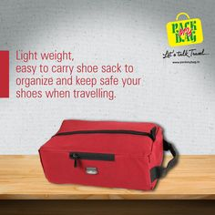 Carry your shoes with convenience & ease with the light weight Shoes Sack Organiser  Order Now:- http://www.packmybag.in/SearchResults.aspx…