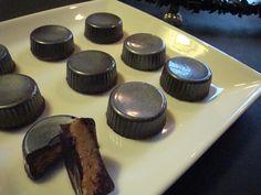 Himmelske kager: Chokolader fyldt med jordnøddekaramel