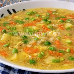 Slovak Recipes, Czech Recipes, Low Carb Recipes, Healthy Recipes, Canned Meat, Detox Soup, Food Humor, What To Cook, Bon Appetit