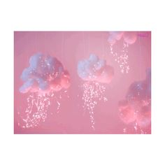 aesthetic pink polyvore header candy doodle cotton clothes golden login clouds