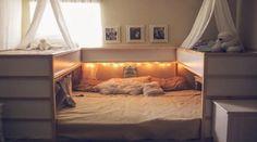 Diese Familie zaubert aus IKEA-Gegenständen ein 7-Mann Bett! Das musst du gesehen haben, um es zu glauben!