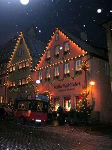 bought a number of christmas ornaments in this Kathe Wohlfahrt shop in Rothenburg o.d.t.