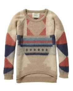 Pull en tricot intarsia - Scotch & Soda