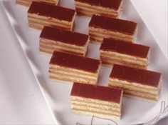 Dobosh Torte (Seven Layer Torte) from Food.com: A friend shared this recipe with me it's from the Maida Heatter's Book of Great Desserts. It makes a nice Holiday or dinner party dessert