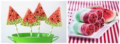 Watermelon Inspired Treats