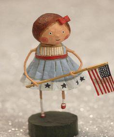 Loving this Lori Mitchell Little Betsy Ross Figurine on #zulily! #zulilyfinds