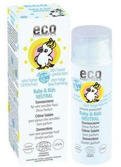 eco cosmetics: Baby & Kids Neutral Sonnencreme LSF 50 ml) Sunscreen Spf 50, Natural Sunscreen, Bio Label, Vitamin E, Neutral, Protector Solar, Eco Baby, Glycerin, Hygiene