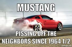 61 Ideas for mustang cars humor funny Mustang Girl, Fox Body Mustang, Ford Mustang Car, Ford Mustangs, 05 Mustang, Mustang Cobra, Car Jokes, Car Humor, Funny Humor