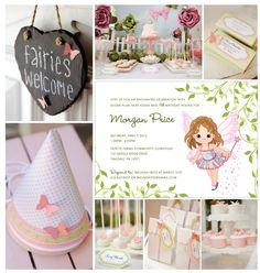 fairy birthday | Fairy Garden Birthday Party Invitation | The Opened Envelope | Blog