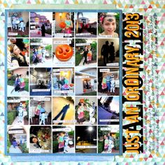 6 Experiments in Scrapbook Layout Design Rule Breaking | Katie Scott | Get It Scrapped
