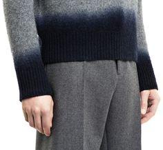 ACNE STUDIOS Dip-Dye Mélange-Knit Wool Sweater - Cerca con Google