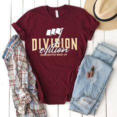 c80ff221250 Shirt mockup - Bella + Canvas - 3001 Maroon - mockup - flat lay -  photography