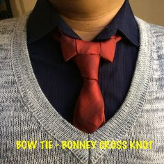 Bow Tie-Bonney Cross Knot created by Noel Junio.