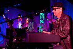 Playing piano    #jeffgoldblum  #musician #actor  #level3nightclub
