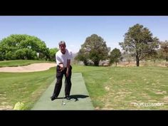 Golf Instruction Video - Stop Swaying on the Takeaway - Backswing Drill Golf Swing Analyzer, Michelle Wie, Golf Videos, Golf Instruction, New Golf, Perfect Golf, Play Golf, Golf Tips, Drill