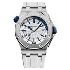 Audemars Piguet Royal Oak Offshore Diver White Watch 15710ST.OO.A010CA.01
