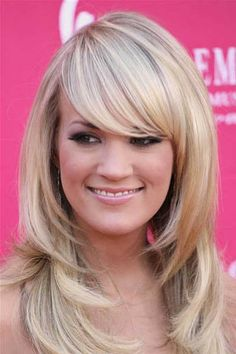Cute hairstyle - Carrie Underwood