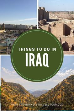 Now, with the country slowly getting back on its feet again, people are also starting to gain interest in coming over. Its doors have been opened to tourists who are wanting to know more about what's more to Iraq than what the media portrays.