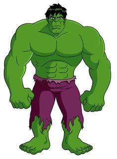Hulk que j'aime pour son coté imposant et sa force !