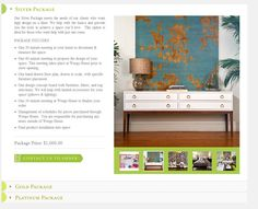 we used an accordion style form to display the various service packages offered Web Design Examples, Ecommerce Web Design, Higher Design, Entryway Tables, Display, Storage, Room, Inspiration, Furniture