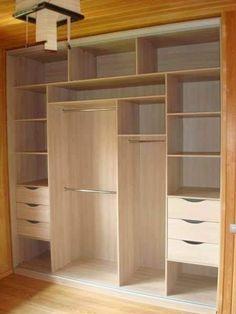 Bedroom Closet Storage, Wardrobe Design Bedroom, Bedroom Furniture Design, Wardrobe Closet, Wardrobe Storage, Wardrobe Drawers, Wardrobe Doors, Bathroom Closet, Storage Room