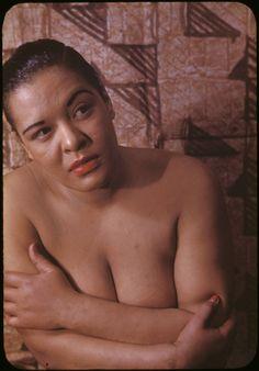 Billie Holiday por por Carl Van Vechten em 1949. Veja também: http://semioticas1.blogspot.com.br/2012/08/biografia-de-uma-cancao.html