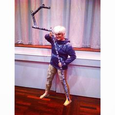 Had so much #fun at #desucon #desuconfantacy yesterday! #jackfrost #riseoftheguardians #rotg #cosplay