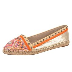 House of Harlow KAT espadrilles The Kat is a round toe espadrille with embroidered and studded upper. Leather lining. Rubber sole. True to Size. New in box and never worn. Such a gorgeous shoe! House of Harlow 1960 Shoes Espadrilles