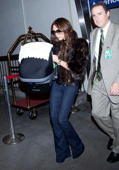 Victoria Beckham Flare Jeans - Victoria Beckham Looks - StyleBistro