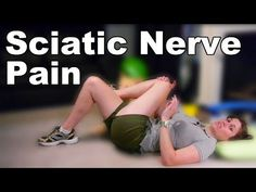 Sciatic Nerve Pain Stretches & Exercises - Ask Doctor Jo - YouTube