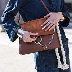 CATCH-a-TREND. A Curation Of Street Style Excellence. #catchatrend #streetstyle #chloé #handbag #catchCHLOÉ