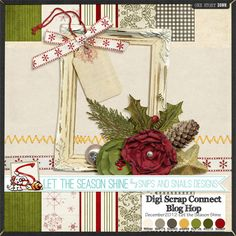 Quality DigiScrap Freebies: Let The Season Shine mini kit freebie from Snips And Snails Designs