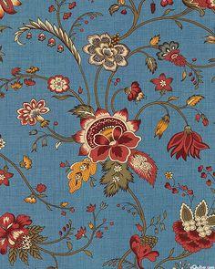 Le Marais - Provencal Floral - French Blue