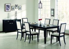 Transitional Black Table CST-101561 by Coaster Furniture