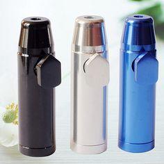 Hot!  3 X Lot Metal Portable Enchase Smoking Pipes Bullet Shape Mini Pipe Cigarette Holder #Affiliate