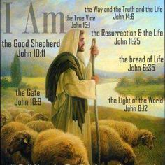 """Jesus said, """"I am the Way and the Truth and the Life. No one comes to the Father except through me. John (Jesus was the MEDIATOR, and we must pray through his name when praying to Jehovah (God Almighty). Scripture Verses, Bible Scriptures, Scripture Journal, Jesus Quotes, Bible Quotes, Biblical Quotes, Images Bible, The Great I Am, Saint Esprit"""