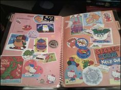 Sticker Books  via crapatmyparentshouse