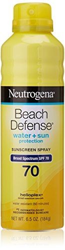 ... FULL ARTICLE @ http://www.sheamoistureproducts.com/store/neutrogena-beach-defense-spray-broad-spectrum-spf-70-sunscreen-6-5-ounce-2/?c=3411