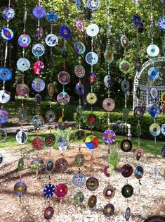 lovely upcycled cds