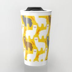 Buy The Alpacas Travel Mug by littleoddforest. Worldwide shipping available at Society6.com. Just one of millions of high quality products available.