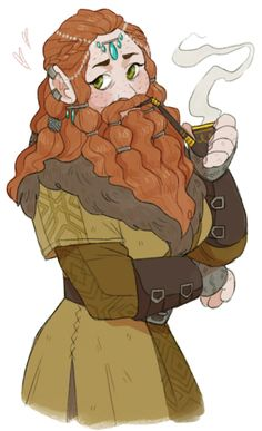 pinkmilkbutt: a lady dwarf (▰˘◡˘▰) - Roll a Perception Check Fantasy Character Design, Character Creation, Character Design Inspiration, Character Concept, Fantasy Inspiration, Character Art, Character Ideas, Dungeons And Dragons Characters, Dnd Characters