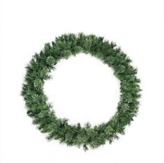 Asstd National Brand 48 Unlit Atlanta Mixed Cashmere Pine Artificial Christmas Wreath