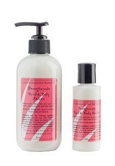 This pomegranate seed extract infused lotion can be used every day all over your body!  Our lotion features therapeutic aloe vera, jojoba oil and shea butter for moisturizing dry skin.  Skin absorbs this lotion quickly for a non-greasy finish.