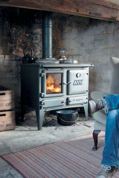 OK not quite a stove, but a range that can keep your kitchen warm and you can cook on it too! The ESSE Ironheart has quickly become a classic and builds on ESSE's long history as a maker of ranges as well as stoves. Giving up to 9.7 kW on wood fuel and available with a boiler as an option.