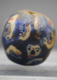Islámico Medieval cara de cristal grano 900-1100 ad in Antiques, Antiquities, Near Eastern | eBay