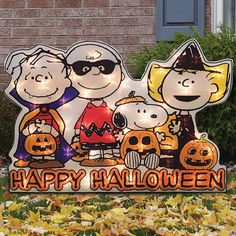 Halloween lighted decorations my web value lighted snoopy peanuts halloween lighted yard art decoration aloadofball Gallery