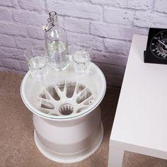 Sahara Force India Wheel Rim Table - White smart!