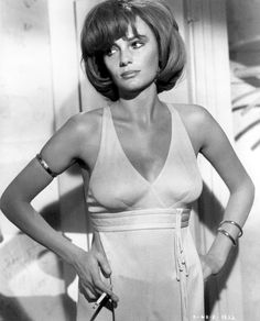 Classic photograph of actress Jacqueline Bisset in the 1969 film, The Grasshopper. // The Grasshopper  Directed byJerry Paris  StarringJacqueline Bisset  Release date(s)February 5, 1971  Running time98 mins.  CountryUnited States  LanguageEnglish
