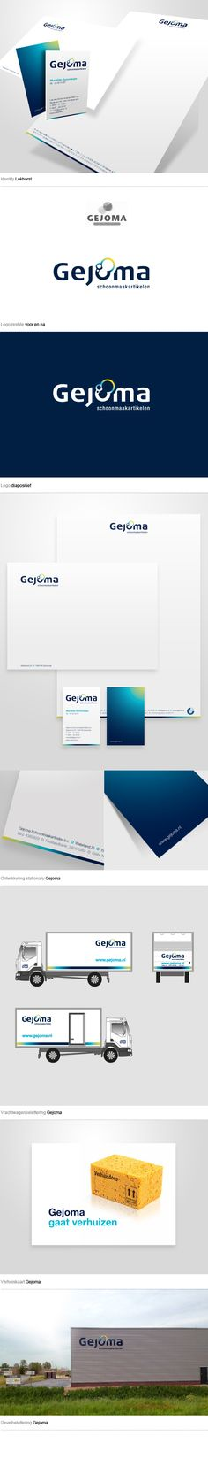Gejoma | #stationary #corporate #design #corporatedesign #logo #identity #branding #marketing <<< repinned by an #advertising agency from #Hamburg / #Germany - www.BlickeDeeler.de
